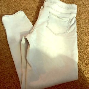 Jegging. Maurice's. Size 22. Light gray wash.